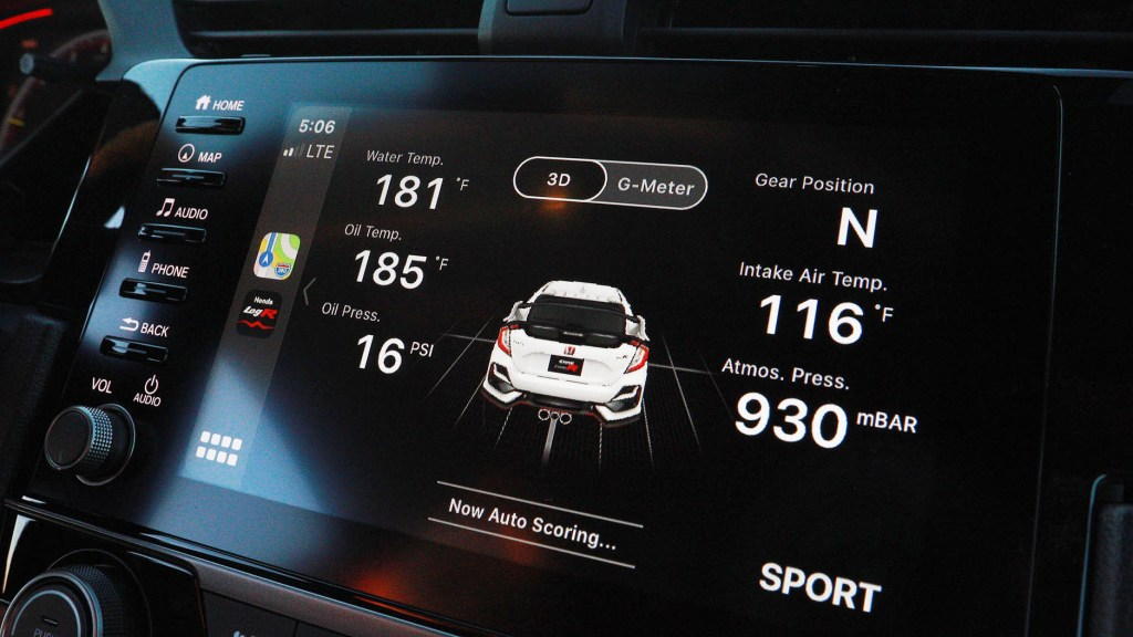 Refreshed 2020 Honda Civic Type R Now Comes With Data Logging App