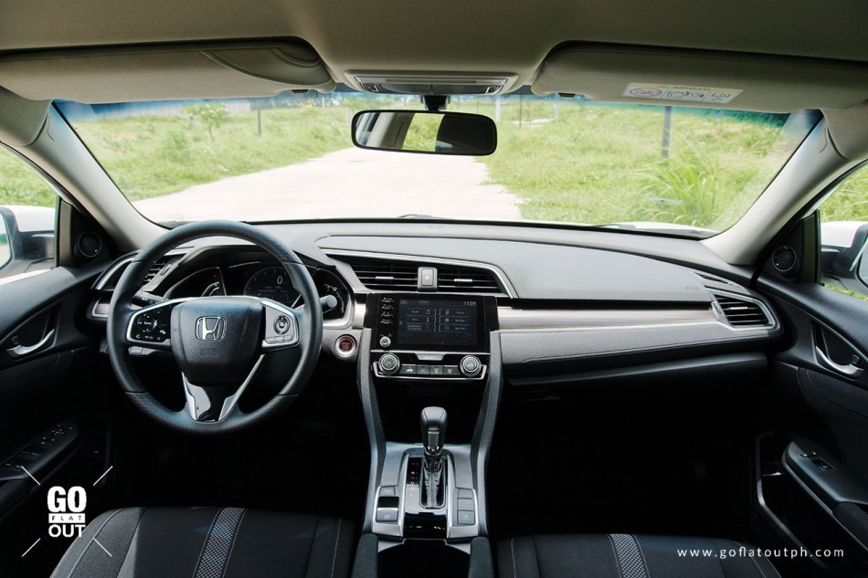 2020 Honda Civic 1.8 E Interior