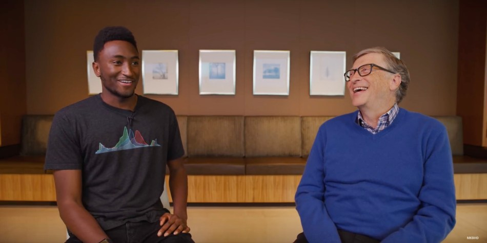 MKBHD interviews Bill Gates