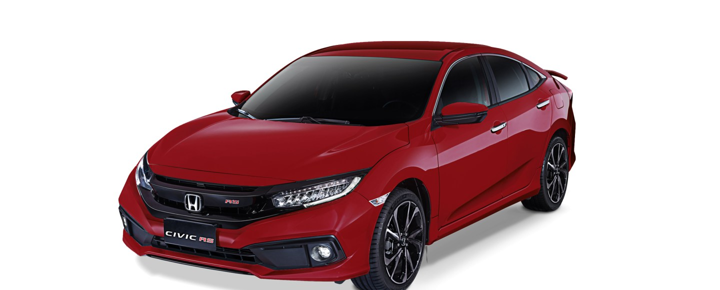 2020 Honda Civic RS Turbo Ignite Red Metallic