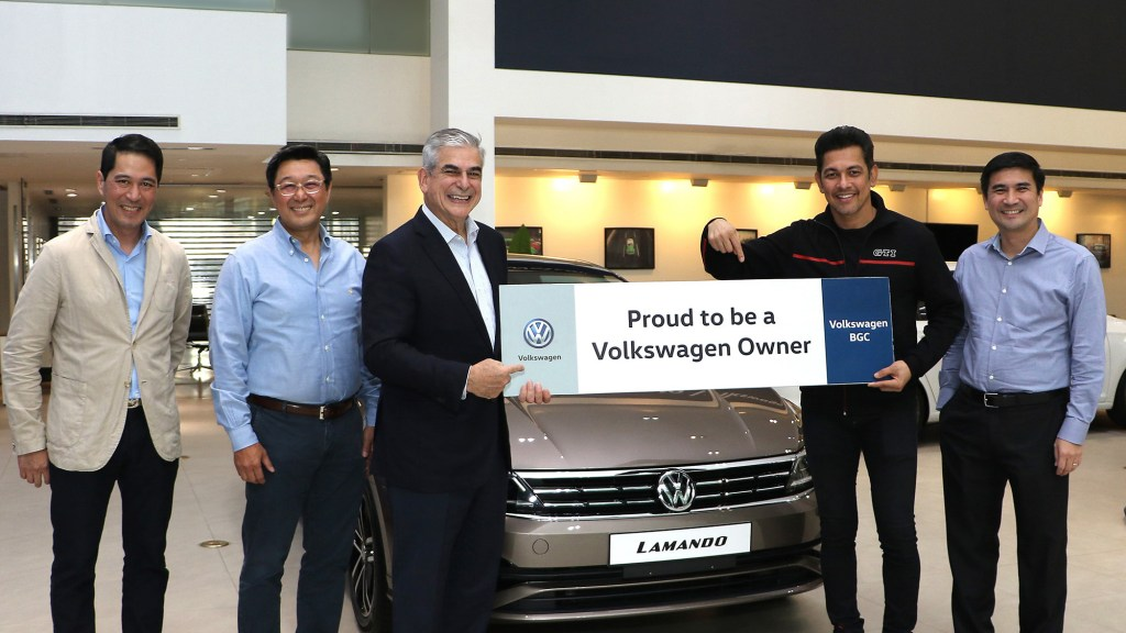 Gary Valenciano Is The New Face Of Volkswagen