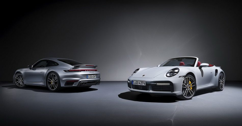 2021 Porsche 911 Turbo S Coupe and Cabriolet