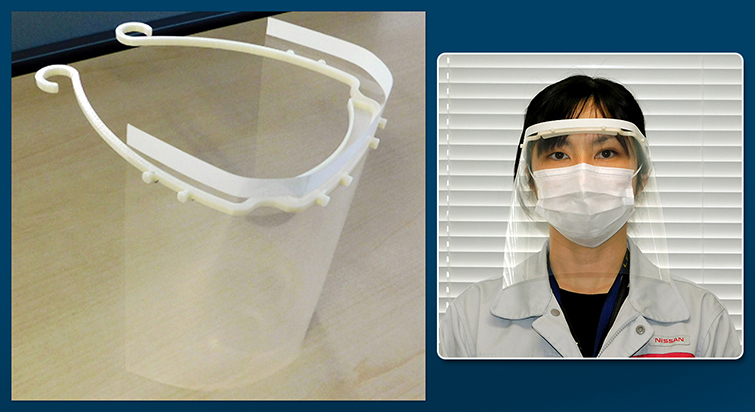 Nissan To Produce Face Shields, Respirators In Its Plants Across The Globe