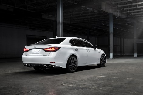 2020 Lexus GS 350 Black Line exterior