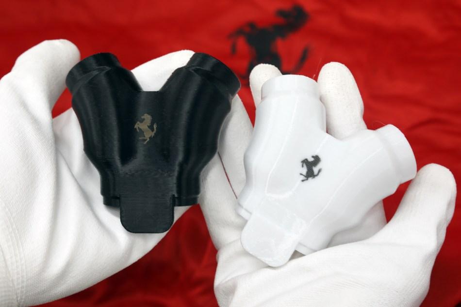 Ferrari To Produce Respirator Valves, Fittings For Face Masks