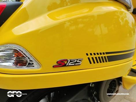 2020 Vespa S 125 Design