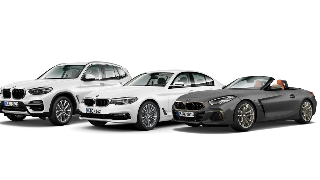 BMW PH Unveils New Variants Of 5 Series, X3, Z4