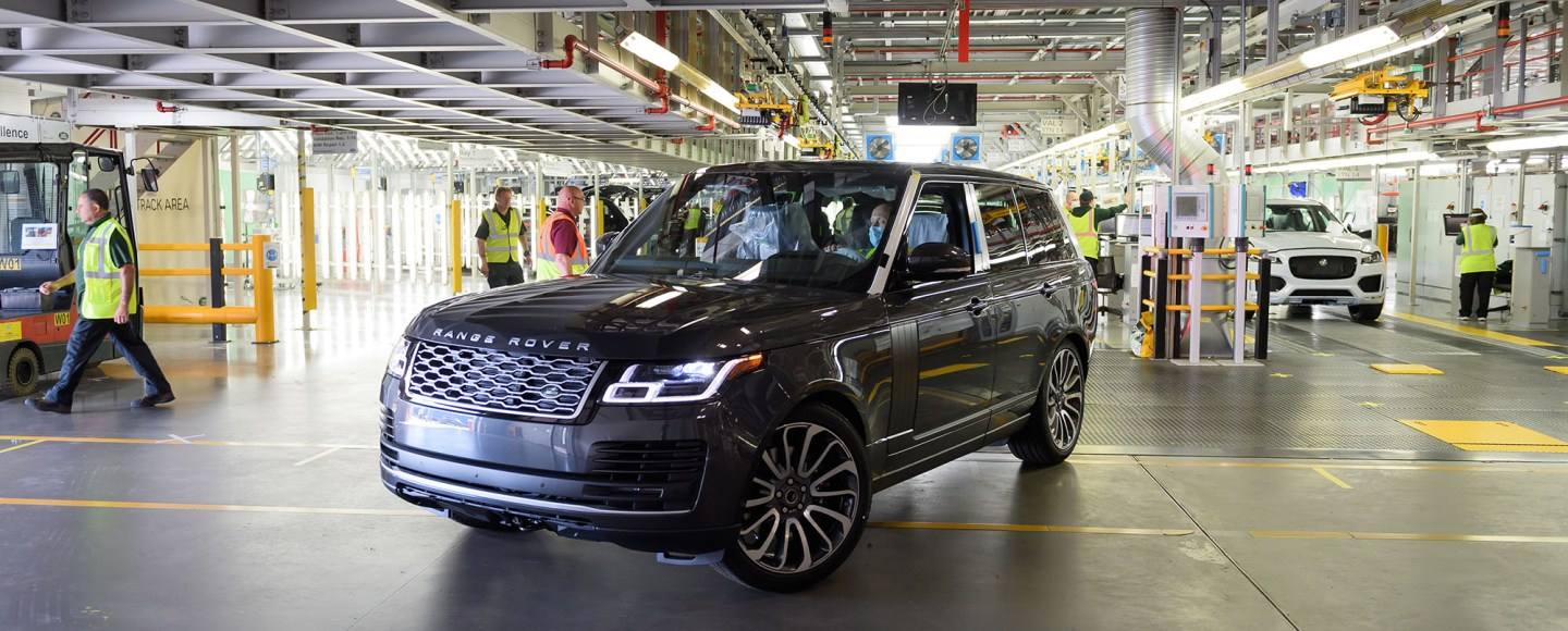 This Is The First Range Rover To Be Built With Social Distancing
