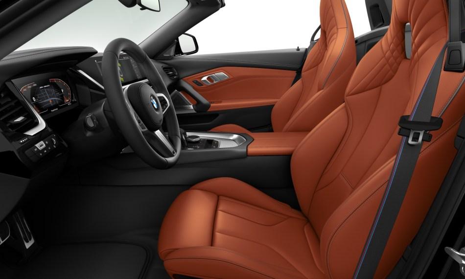 BMW Z4 M40i Frozen Edition Interior