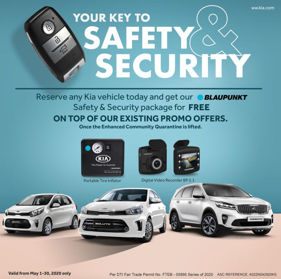 Kia PH Safety and Security Package