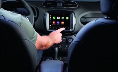 2020 Jeep Renegade Longitude Interior