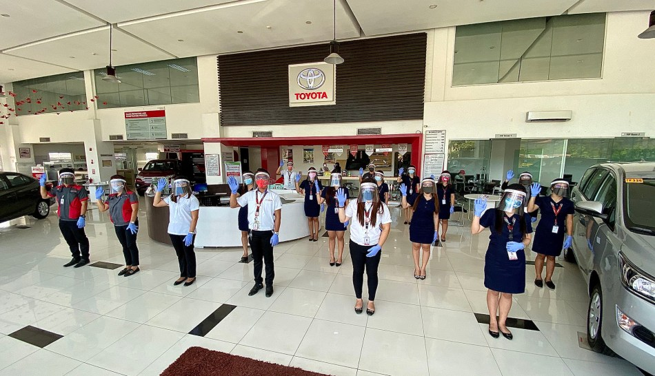 Take A Look At Toyota PH's Dealer Operations In GCQ Areas