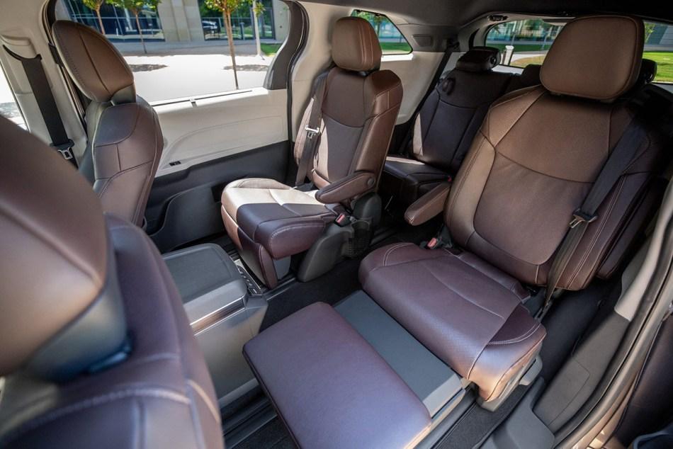 2021 Toyota Sienna Limited Interior