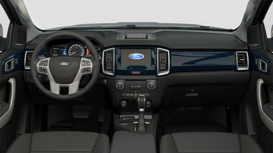 2020 Ford Everest Sport Interior