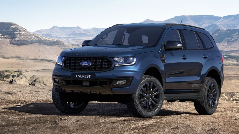 2020 Ford Everest Sport Exterior