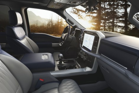2021 Ford F-150 Limited Interior