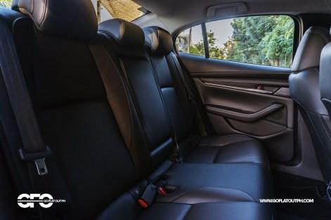 2020 Mazda 3 Sedan Rear Seats