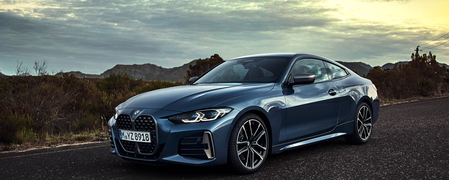 All-New 2021 BMW 4 Series Flaunts Its Massive Grille