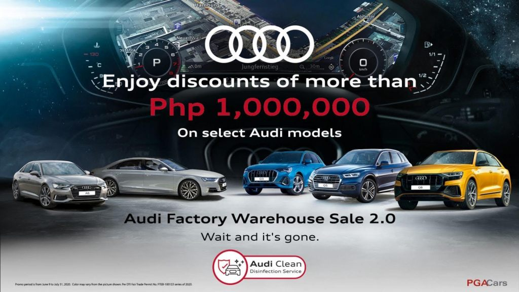 Audi PH's Factory Warehouse Sale Offers Up To P1M In Discounts