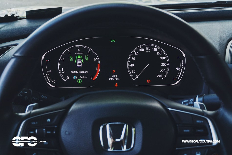 2020 Honda Accord 1.5 EL Turbo Digital Gauges
