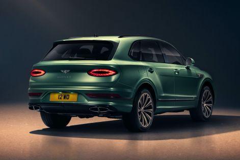 2021 Bentley Bentayga Exterior