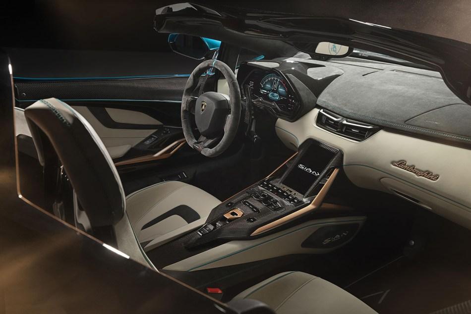 2021 Lamborghini Sián Roadster Interior