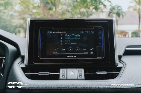 2020 Toyota RAV4 2.5 LTD Infotainment