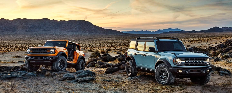 2021 Ford Bronco Returns To Challenge The Jeep Wrangler