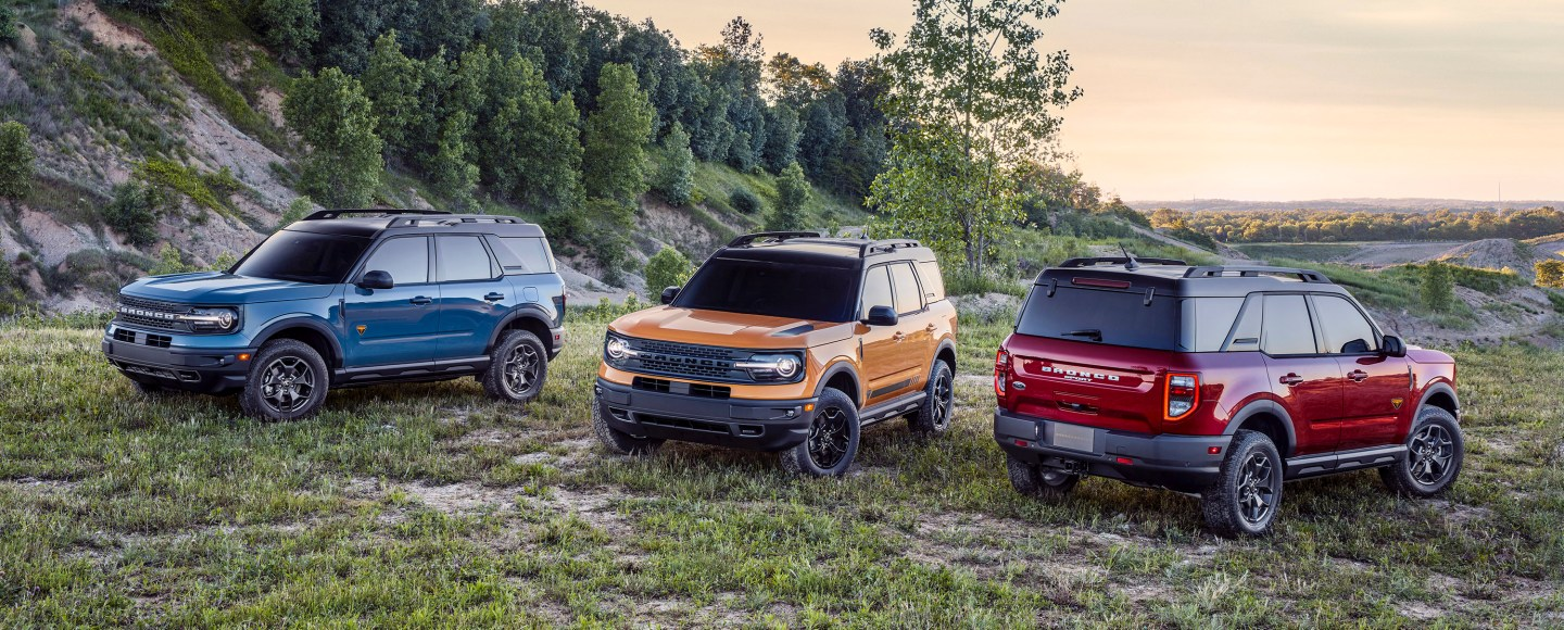2021 Ford Bronco Sport Is A Small Crossover Suv That S Capable Off
