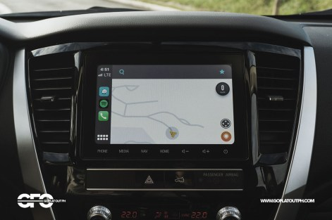 2020 Mitsubishi Montero Sport 8-inch infotainment system