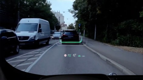 S-Class MBUX Augmented Reality