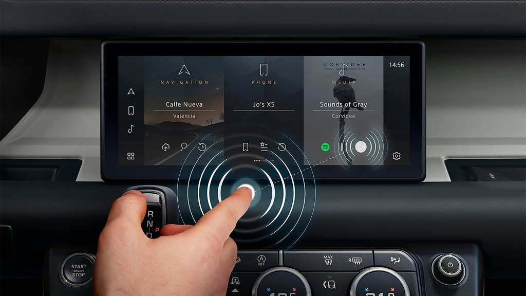 'Touch-less' Touch Screens Could Be The Future Of Infotainment Systems