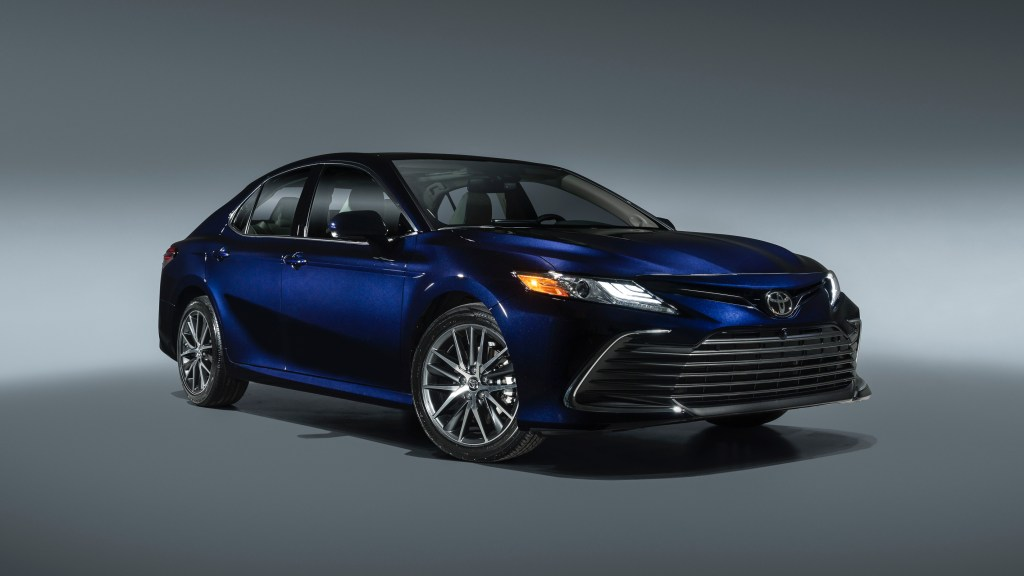 2021 Toyota Camry Gets Facelifted, Gains More Advanced Safety Tech