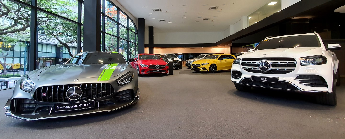 Take A Look At Mercedes-Benz PH's Posh New Dealership In BGC