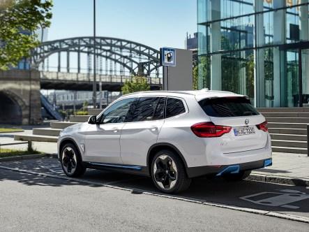2021 BMW iX3 Rear