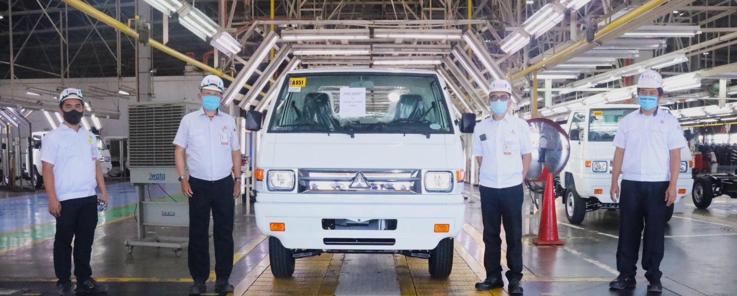200,000 Mitsubishi L300s Have Already Been Produced In The PH