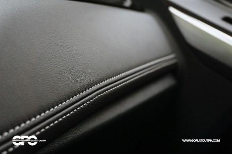 2021 Ford Territory Titanium Stitching