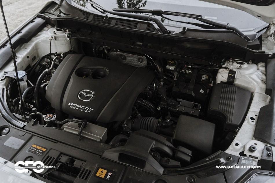 2020 Mazda CX-8 Engine Bay