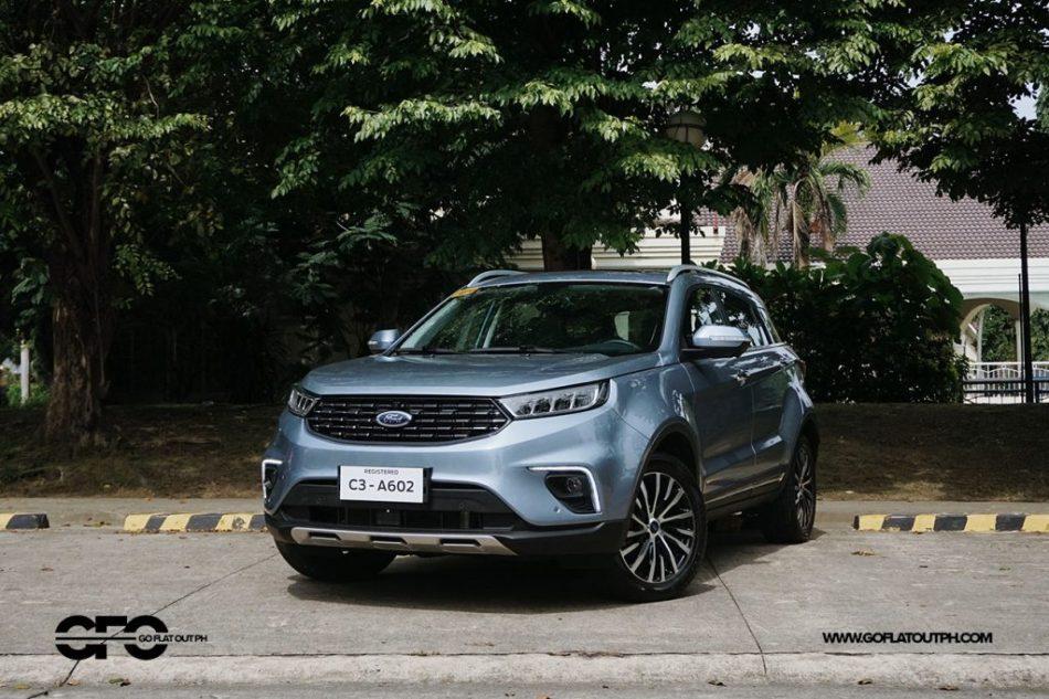 2021 Ford Territory Titanium Front