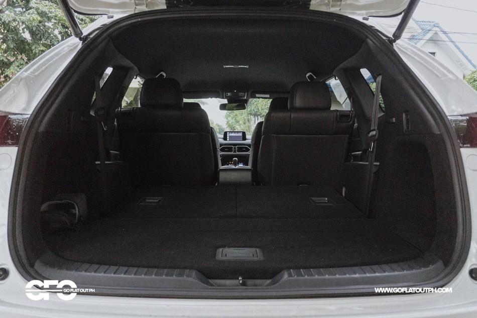 2020 Mazda CX-8 Trunk Space 749 Liters