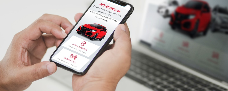 Honda Cars PH's Virtual Showroom Is Now Online