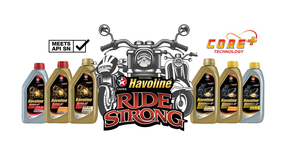 Caltex PH Launches Havoline Super 4T and SuperMatic 4T For Motorbikes