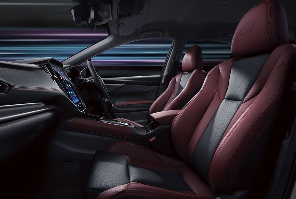 2021 Subaru Levorg STI Sport Interior