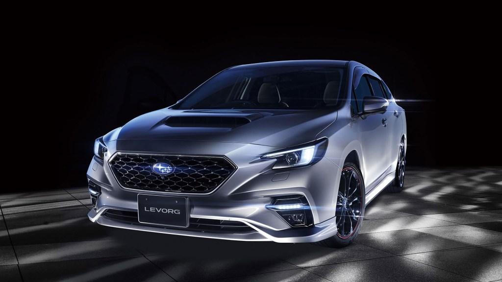2021 Subaru Levorg Fully Revealed, Debuts EyeSight X Autonomous Tech