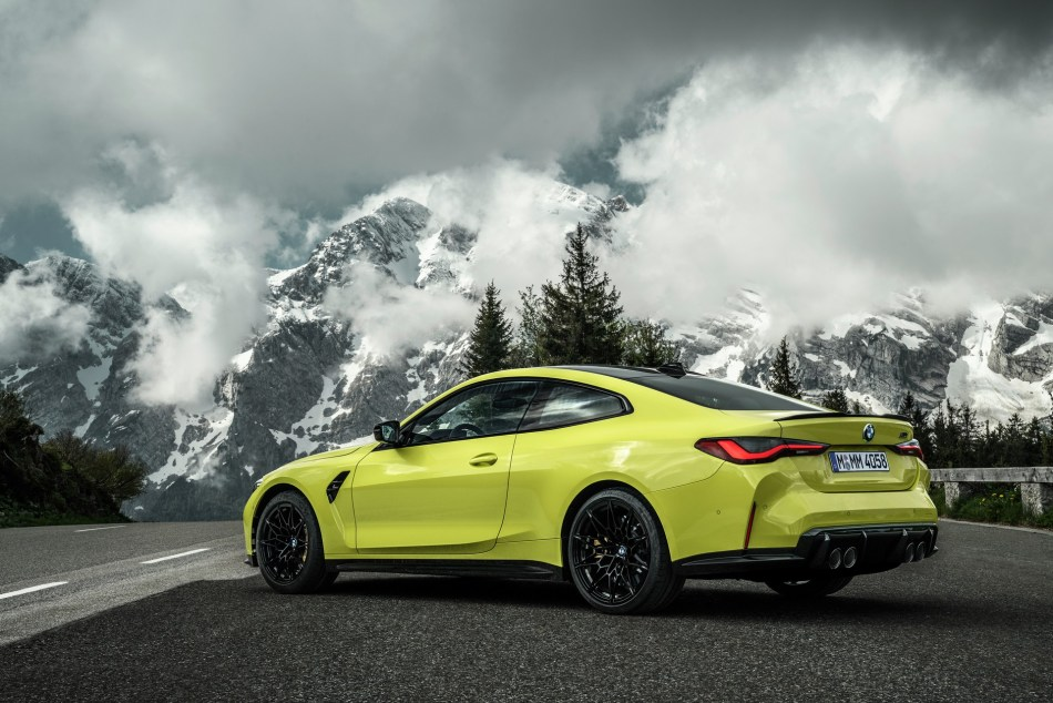 2021 BMW M4 Competition Rear