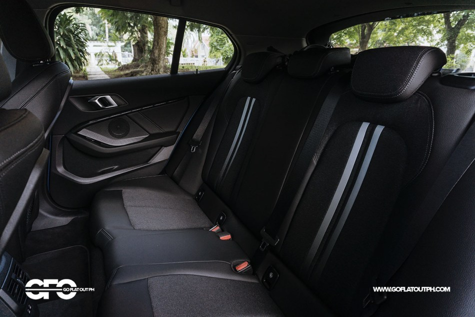 2020 BMW 118i Sport Rear Seat Space