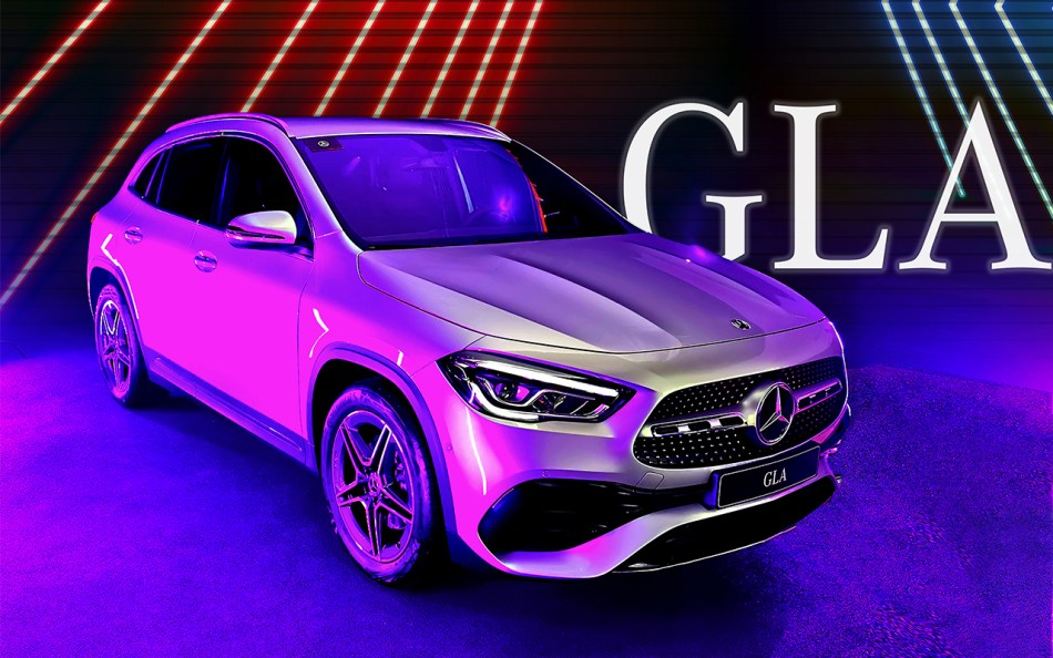 2021 Mercedes-Benz GLA 200 AMG Line Philippines Exterior