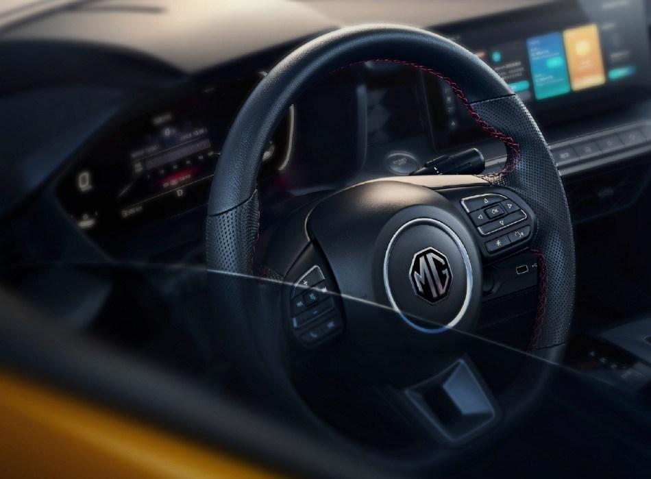2021 MG 5 Interior