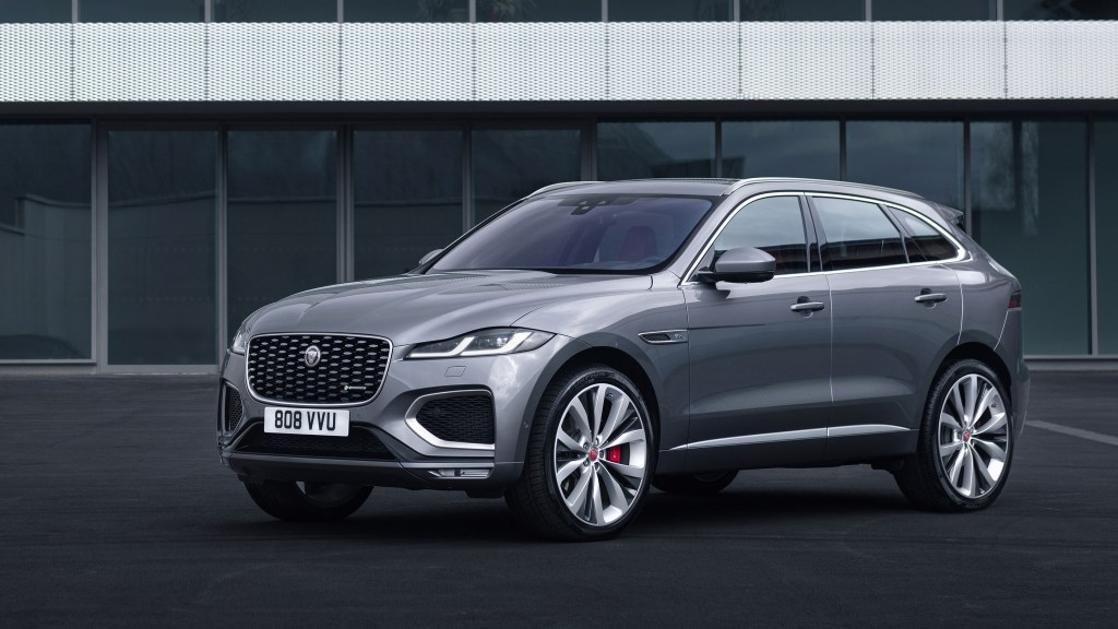 2021 Jaguar F-Pace Gains Electrified Powertrains, New Interior Design