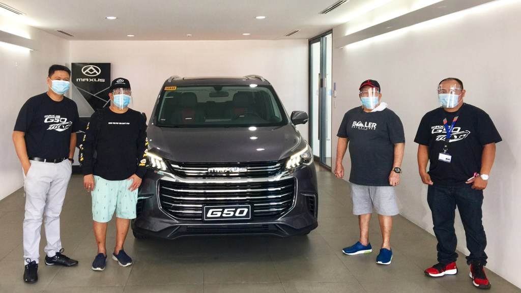 These Cebuano Businessmen Are PH's First 2021 Maxus G50 Owners